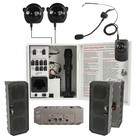 Califone PA-IRSYSB Infrared Classroom Audio System  Four Speaker System