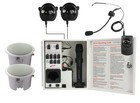 Califone PAIRSYSCS Infrared Classroom Audio System  w/ two CS308 Ceiling Speakers