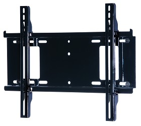 Peerless PF640 Paramount Universal Flat Wall Mount for most 23 in. - 46 in. LCD Screens Gloss Black