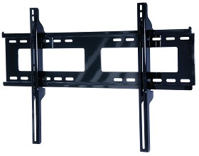 Peerless PF650 Paramount Universal Flat Wall Mount for 32 in. - 56 in. Flat Panel Screens Gloss Black