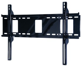 Peerless PF660 Paramount Universal Flat Wall Mount for 37 in. - 60 in. Flat Panel Screens Gloss Black