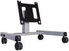 Chief PFQUS Flat Panel Confidence Monitor Cart (42-71 Inch Displays) - Silver