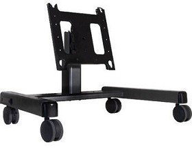 Chief PFQUB Flat Panel Confidence Monitor Cart (42-71 Inch Displays) - Black