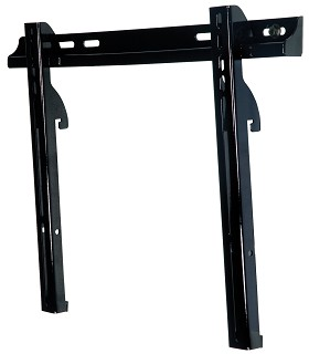 Peerless PFT640 Paramount Universal Fixed Tilt Mount for 23 in. - 46 in. LCD Screens Gloss Black