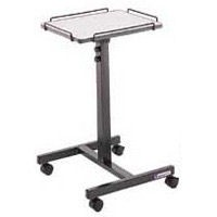 "PHT800-1250 with Tilt - Mobile Projection Cart Adjustable 31-1/2"" - 49-1/2"" High"