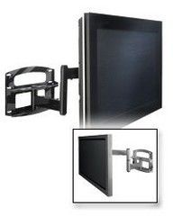 Peerless PLAV60-UNLP Universal TV Wall Mount with Vertical Adjustment for 37 - 95 Inch TV's - Black