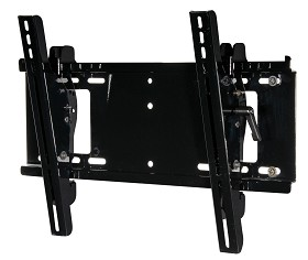 Peerless PT640 Paramount Universal Tilt Wall Mount for 23 in. - 46 in. LCD Screens Gloss Black