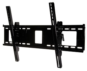 Peerless PT660 Paramount Universal Tilt TV Wall Mount for 39 - 80 Inch TV's - Gloss Black