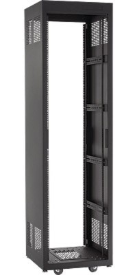 Raxxess NE1F2823 E1 Enclosed Rack, 28U, 23 Inch Deep