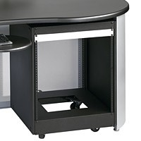 Raxxess GRFWSD Graphite Workstation Door-Plexi Glass Door