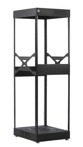 Raxxess NS1F2823 S1 Knock Down Rack, 28U, 23 Inch Deep