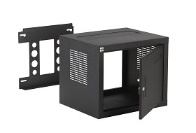 Raxxess NW2F818 W2 Fixed Wall Rack, 8U, 18 Inch Deep