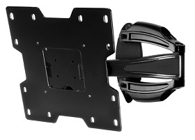 Peerless SA740P SmartMount Universal Articulating TV Wall Mount for 22 - 40 Inch TV's - Black