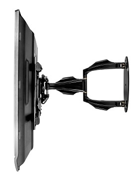 Peerless SA752P SmartMount Articulating Arm Wall Mount for 32 in. - 52 in. Flat Panel Wall Mount, Requires a separate PLP interface bracket - Black