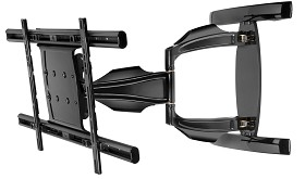 Peerless SA761PU Universal Articulating TV Wall Mounts for 40 to 75 Inch TV's - Black