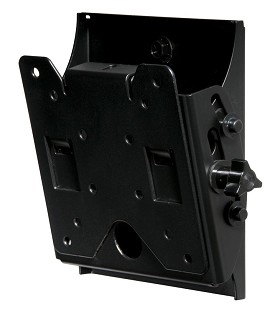 Peerless ST630 SmartMount Universal Tilt Mount, 10 in.- 24 in. Screens (Security Models) - Black