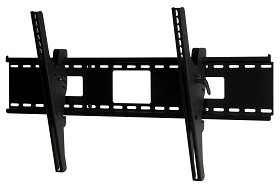 Peerless ST670 Security SmartMount Universal Tilt TV Mount for 46 - 90 Inch TV's with Security Fasteners - Black