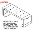 Peerless SVPM35-W Security DVD-VCR Mount for LWB 354, LWB 354T, LWB 530, LWB 530T, WB 20T
