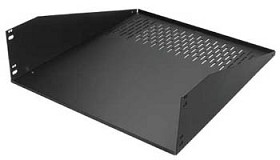 Raxxess WDS3-14 Extra Wide Rack Shelf/3U-14 Inch Deep