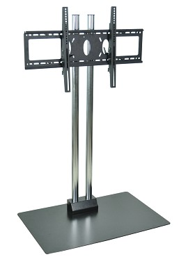 Luxor WPSMS62CH Flat Panel Stand for 32-60 Inch TV's - 60 Inches Tall