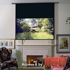 "Draper 139043EM Access E: 100 x 160 16:10 Format 189"" Diag. Glass Beaded CH3200E"
