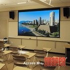 Draper Access Series M 165 Inch Diagonal 87.5x140 16:10 Format Pearl White CH1900E Surface
