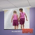 Draper Access Series M 92 Inch Diagonal 45x80 HDTV Format Glass Beaded CH3200E Surface