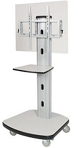Balt 27542 Complete Mobile Plasma/LCD Cart with Universal Interface Bracket and Adjustable Shelf