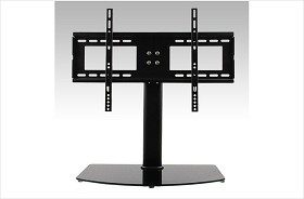 CiERA Portables FLEX STAND Convertable Desktop Stand and TV Wall Mount for 37-55 Inch TV's - Black