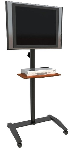 Balt 27579 Cherry Lumina Flat Panel Mobile Stand