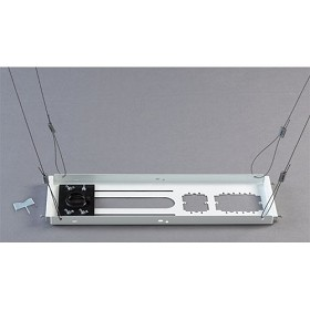Chief CMS443 Above Tile Suspended Ceiling Kit with 3 Inch Extension Rod