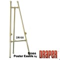 Draper DR150 Poster Easel Decorative Brass