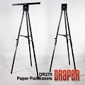 Draper DR270 Poster Easel 6' Folding/Black Epoxy Powder Coat
