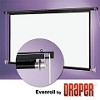 Draper Evenroll Rope & Pulley 20 foot 144x192 Video Format Matt White XT1000E Surface