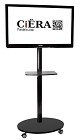 CiERA STMB-ONE StandTall Mobile ONE Portable TV Stand 60 Inch Tall for 32-60 Inch TV's - Black