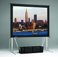 Da-Lite 36061 Fast-Fold Truss 11-6X19-8 HDTV Format 3D Virtual Black Surface