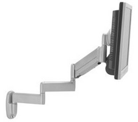Chief KWB110B Wall Height Adjustable Triple Arm