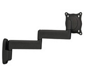 Chief FWDVS Flat Panel Dual Swing Arm Wall Mount (10 inch-32 inch Displays) - Silver