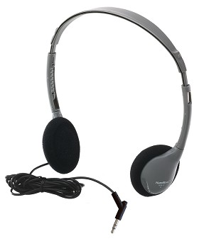 Hamilton Electronics HA-2 Personal Automatic Stereo/Mono Switching Headset