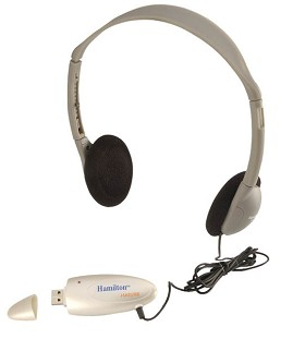 Hamilton Electronics HA2USB Personal USB Headphone