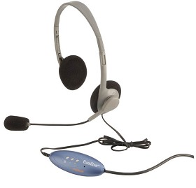 Hamilton Electronics HA2USBSM Personal USB Headphone with Microphone