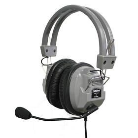 Hamilton HA7M Deluxe Headphone with Mic Stereo/Mono