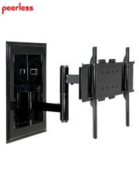 Peerless IM760PU Universal In-Wall Mount for 32 in. - 60 in. Flat Panel Screens - Black