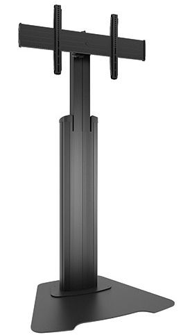 Chief LFAUB Large FUSION Manual Height Adjustable Floor Stand - Black