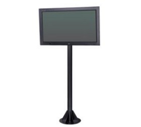 "Peerless COL610P Flat Panel Pedestal For up to 50"" displays - Black"