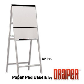 Draper DR990 Heavy-Duty Easel A-Frame with Powder Coat Whiteboard