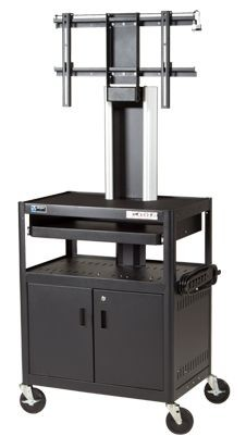 Da-Lite MM5C-39FS Video Conferencing Metal Cart - Single