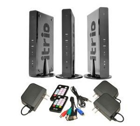 Peerless HDS200-2 HD Flow Pro 2X Wireless Kit Multicast for streaming to 2 displays