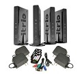 Peerless HDS200-3 HD Flow Pro 3X Wireless Kit Multicast for streaming to 3 displays