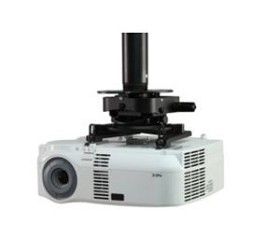Peerless PRGS-UNV Universal Projector Mount for projectors up to 50 pounds - Black